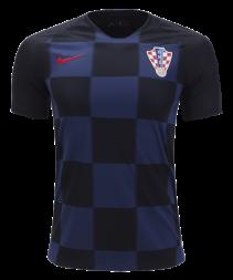 coratia second shirt2018/2019