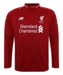 liverpol first long shirt2018/2019