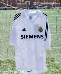 خرید لباس کلاسیک اول رئال مادرید فصل 2004/2005