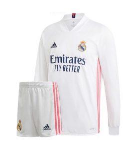 لباس آستین بلند اول رئال مادرید 2021