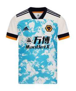 لباس دوم ولورهمپتون 2021-پیراهن تک