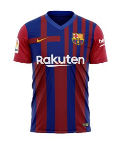 لباس پلیری اول بارسلونا 2022